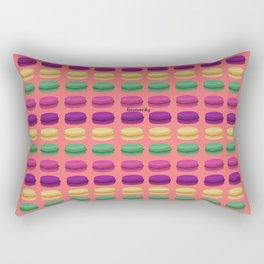 Macaron Pattern Rectangular Pillow