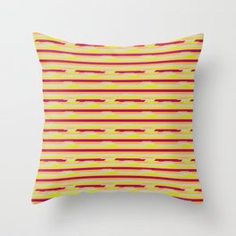 altered. Throw Pillow