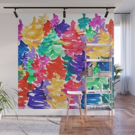 Color forest Wall Mural