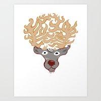 Afro-kabra Art Print