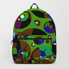 Bubble green black Backpack