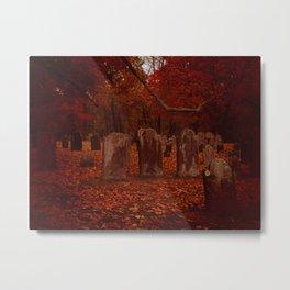 Green Cemetery-2 Metal Print