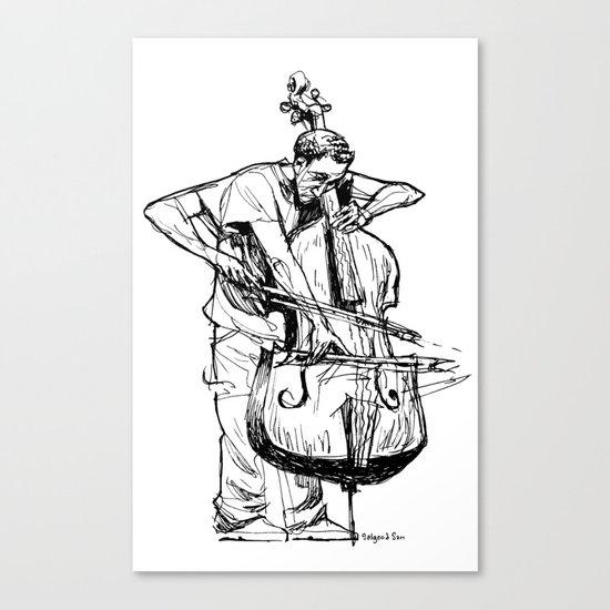 Trembello Canvas Print