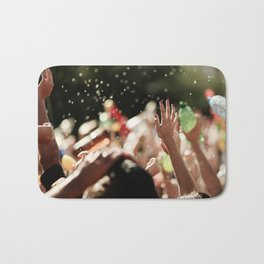Happy young people  Bath Mat