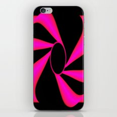 Abstract. Pink+Black Dot. iPhone & iPod Skin
