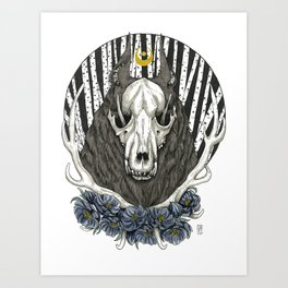 The Treacherous One Art Print