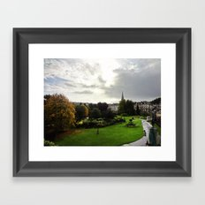 With Bated Breath Framed Art Print