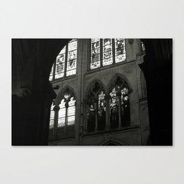 Paris architecture photo Canvas Print