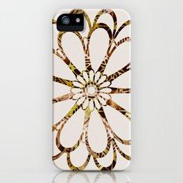 Floral Design Ornament iPhone Case
