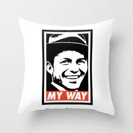 MY Way Throw Pillow