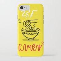 ramen iPhone & iPod Cases featuring RAMEN by OHOO SIX