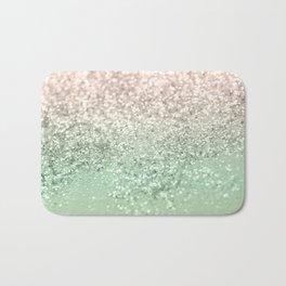 Blush Glitter Dream #3 #shiny #decor #art #society6 Bath Mat