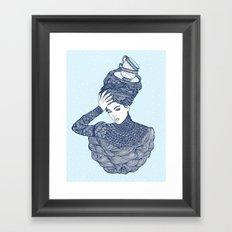 ♥ Early Winter,  Tea time (temporada oficial de tecitos ♥) Framed Art Print