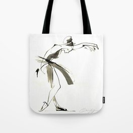 Dance Drawing Tote Bag
