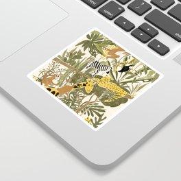 Th Jungle Life Sticker