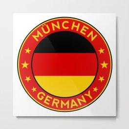 Munchen, Deutschland Metal Print