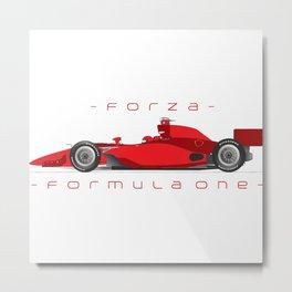 formula one tee Metal Print