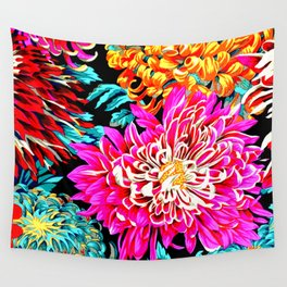 Chrysanthemums Wall Tapestry