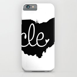 Love Cleveland iPhone Case