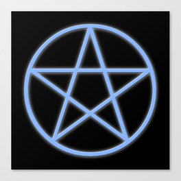 Pentacle Canvas Print