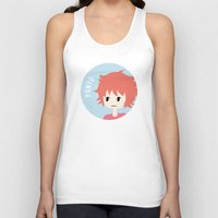 ponyo Tank Tops featuring Ponyo by gaps81