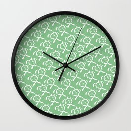 Honu (Green) Wall Clock
