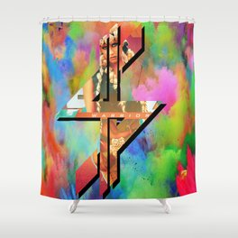 K$ Shower Curtain