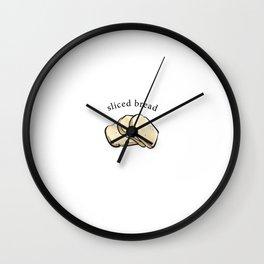 Sliced Bread Wall Clock