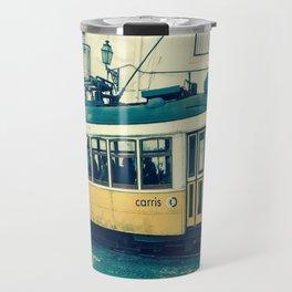 Yellow Tram Travel Mug
