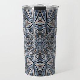 Floral explosion mandala for rejuvenation Travel Mug