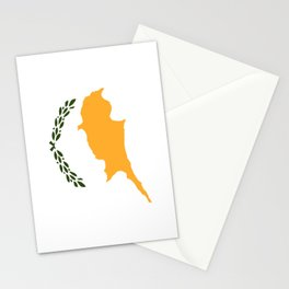 Flag of Cyprus Stationery Cards