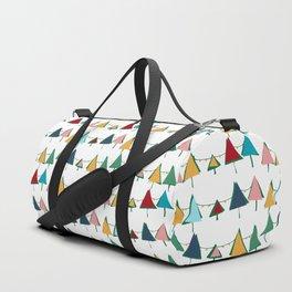 Cute Christmas tree colorful Duffle Bag