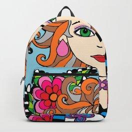 Style Girl - Shella - Blue Backpack