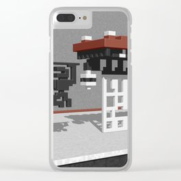 BruceLee Commodore 64 game tribute Clear iPhone Case