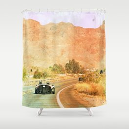 Dream Ride, Arizona Shower Curtain