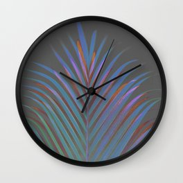 Chic palm / Tropical touch Wall Clock
