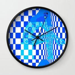 Mod - Blue Wall Clock