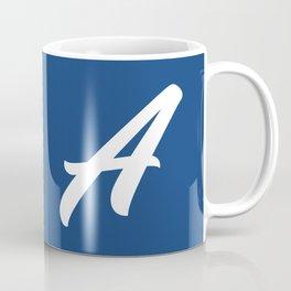 Milestone Monogrammed A Coffee Mug