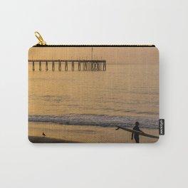 Beautiful sunrise, Ventura pier, CA. Carry-All Pouch
