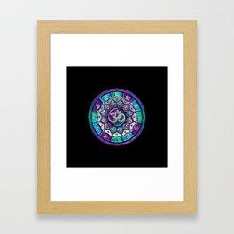 UROCK! Independence Mandala Framed Art Print