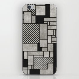 Random Concrete Pattern iPhone Skin
