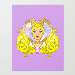 Princess of Power Canvas Print