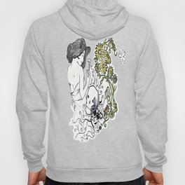 Flowers Figure Hoody