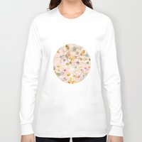 minerals Long Sleeve T-shirts featuring Seashells by Caroline Sansone