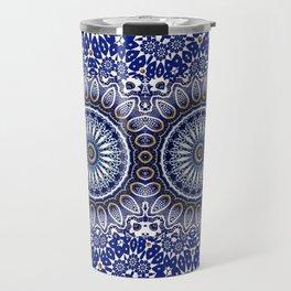 China Blue Travel Mug