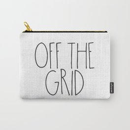 Off the Grid Carry-All Pouch
