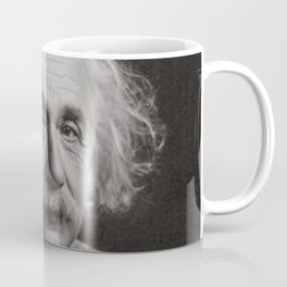 "Albert Einstein Famous Inspirational ""Take Action"" Quote photography / photographs Coffee Mug"