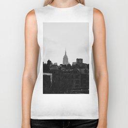 Empire State Building Manhattan in New York City Biker Tank