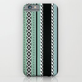 Faux knit cloth sea iPhone Case