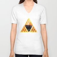 triforce V-neck T-shirts featuring Triforce by Spires
